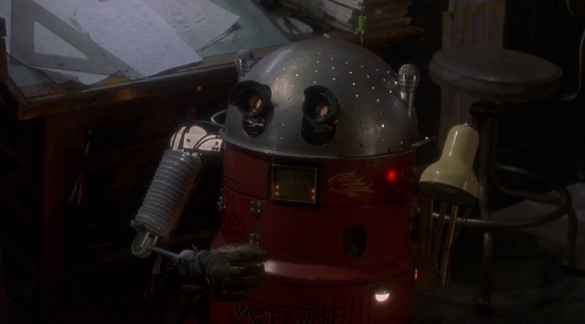 The robot Newman in And You Thought Your Parents Were Weird (1991)