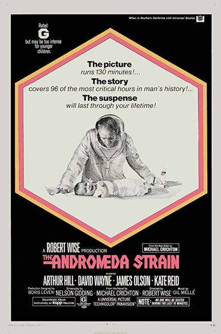 The Andromeda Strain (1971) poster