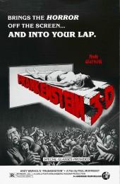 Andy Warhol's Frankenstein (1973) poster