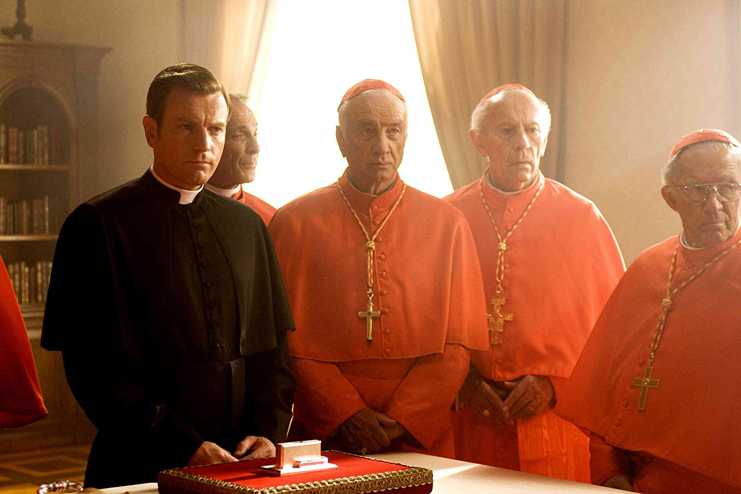 Ewan McGregor as the Camerlengo in Angels & Demons (2009)