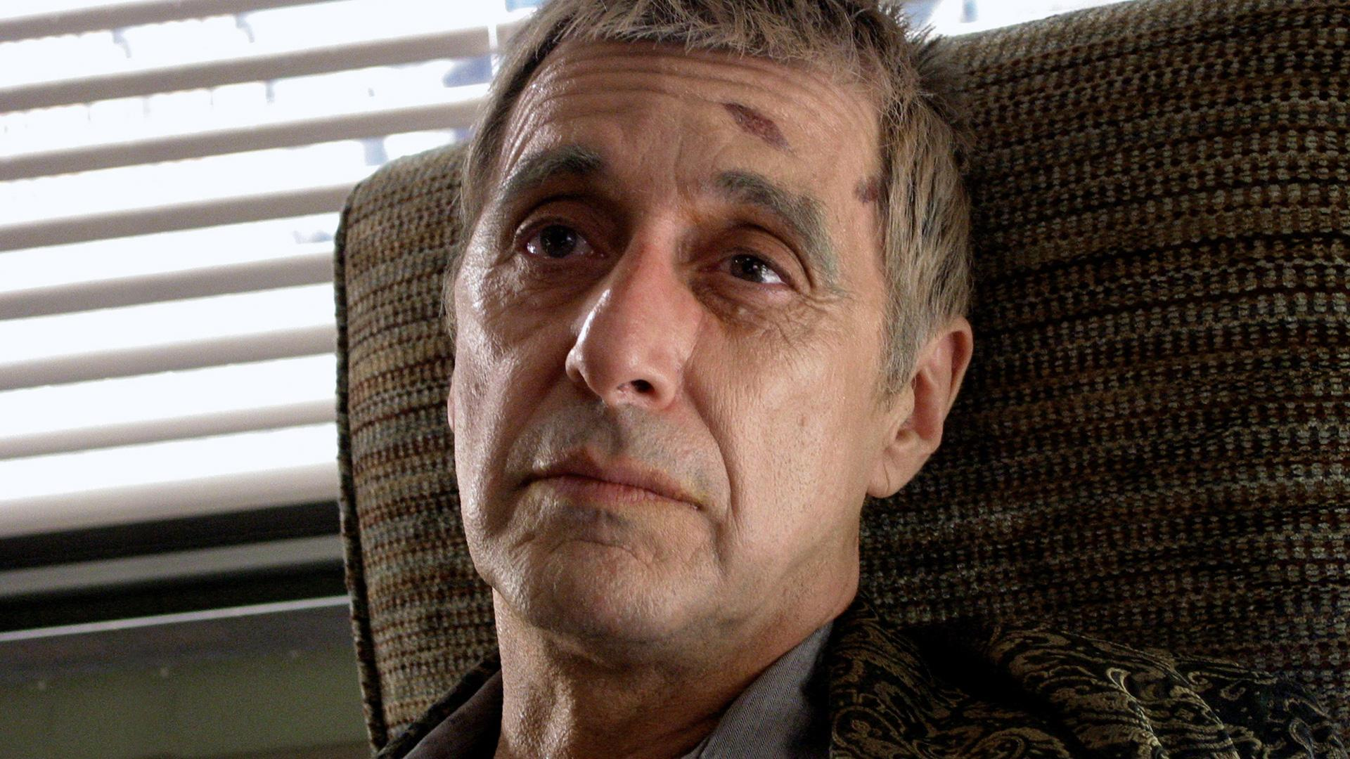 Al Pacino as Roy Cohn, the real-life conservative lawyer who disguised his own life as a gay man and death of AIDS in Angels in America (2003)