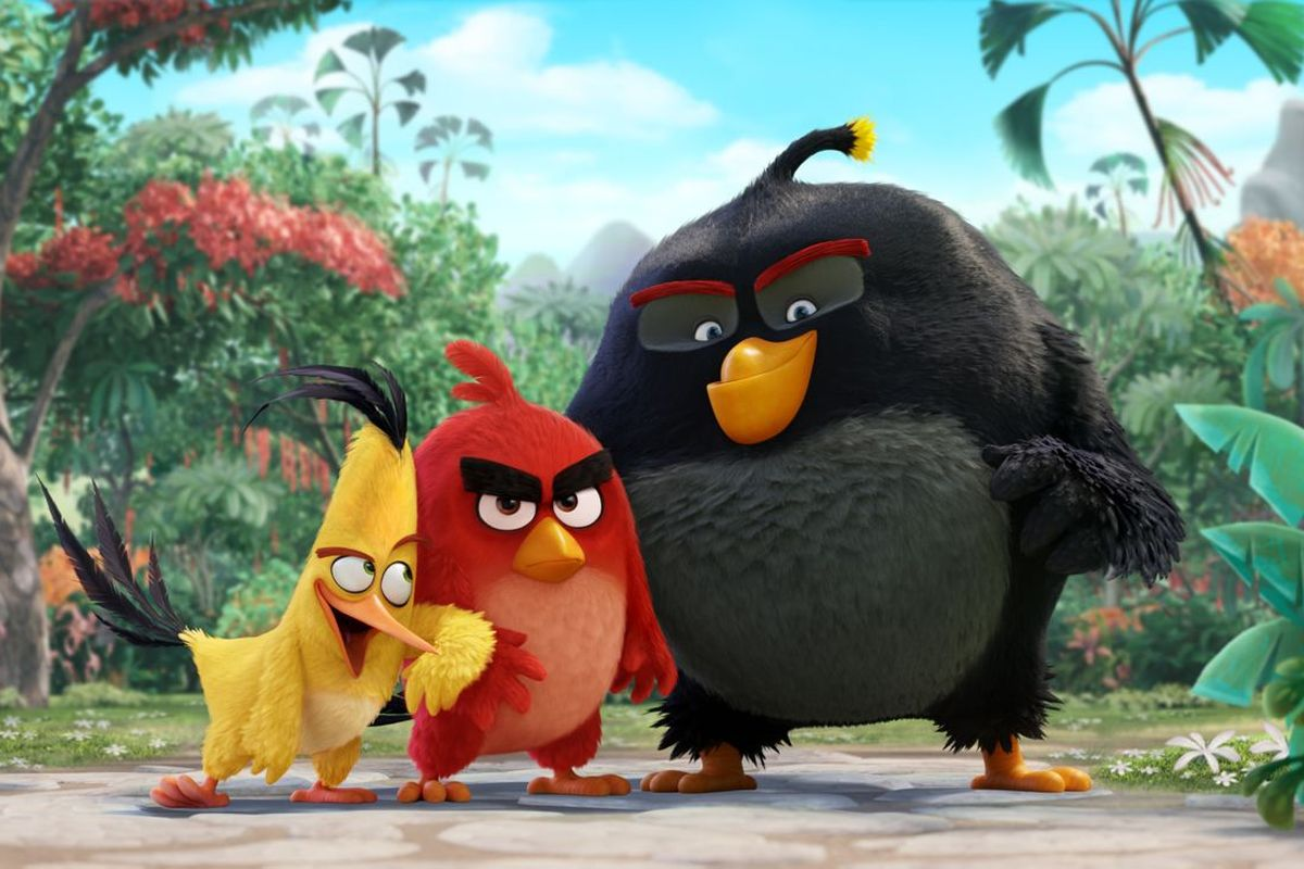 Chuck, Red and Bomb in Angry Birds (2006)