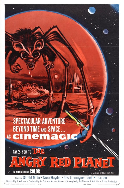 The Angry Red Planet (1959) poster