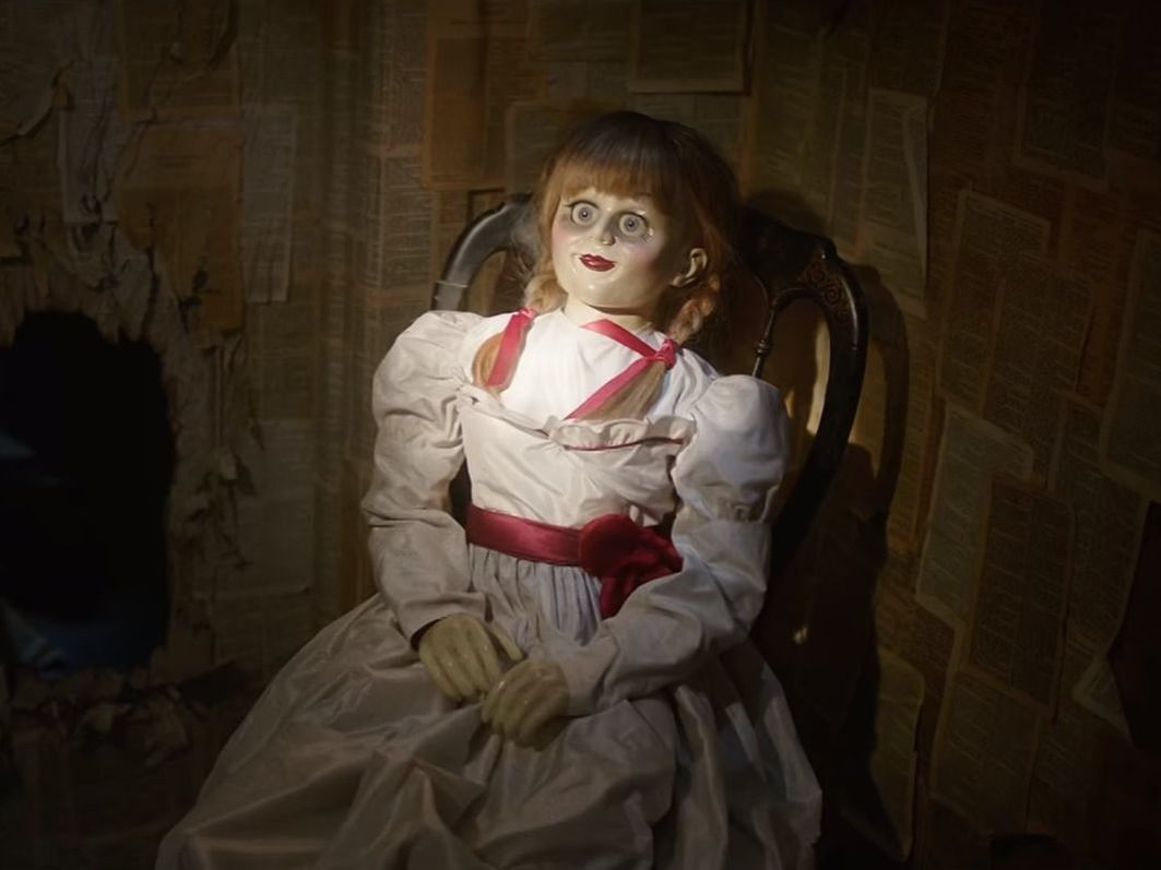 The doll in Annabelle Creation (2017)