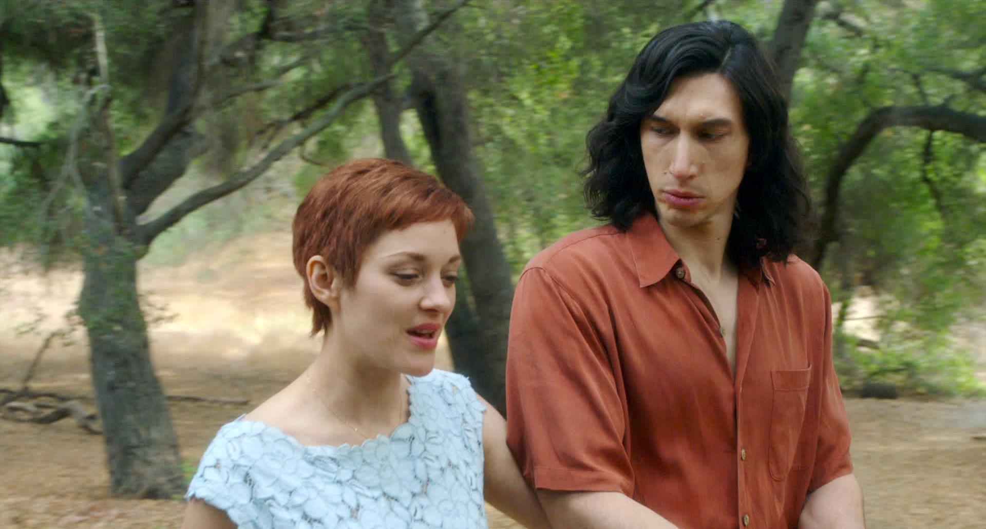 Marion Cotillard and Adam Driver in Annette (2021)