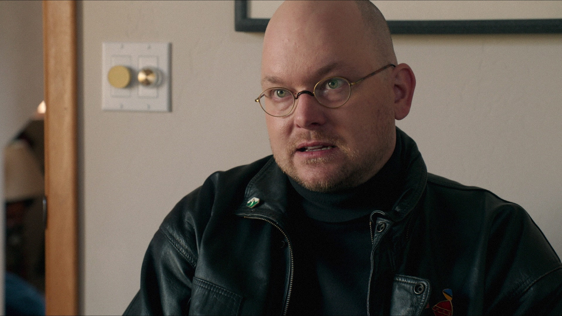 Mark Proksch as ghost assassin Os in Another Evil (2016)