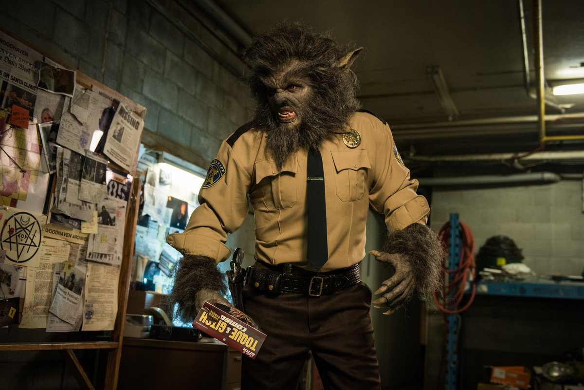 Leo Fafard as Lou Garou in Another WolfCop (2017)