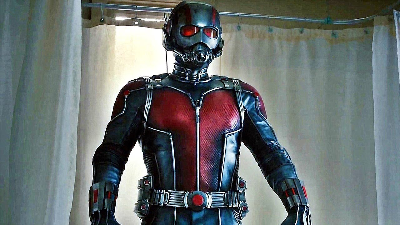 Paul Rudd as Ant Man in Ant-Man (2015)