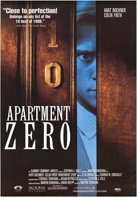 Apartment Zero (1988) poster