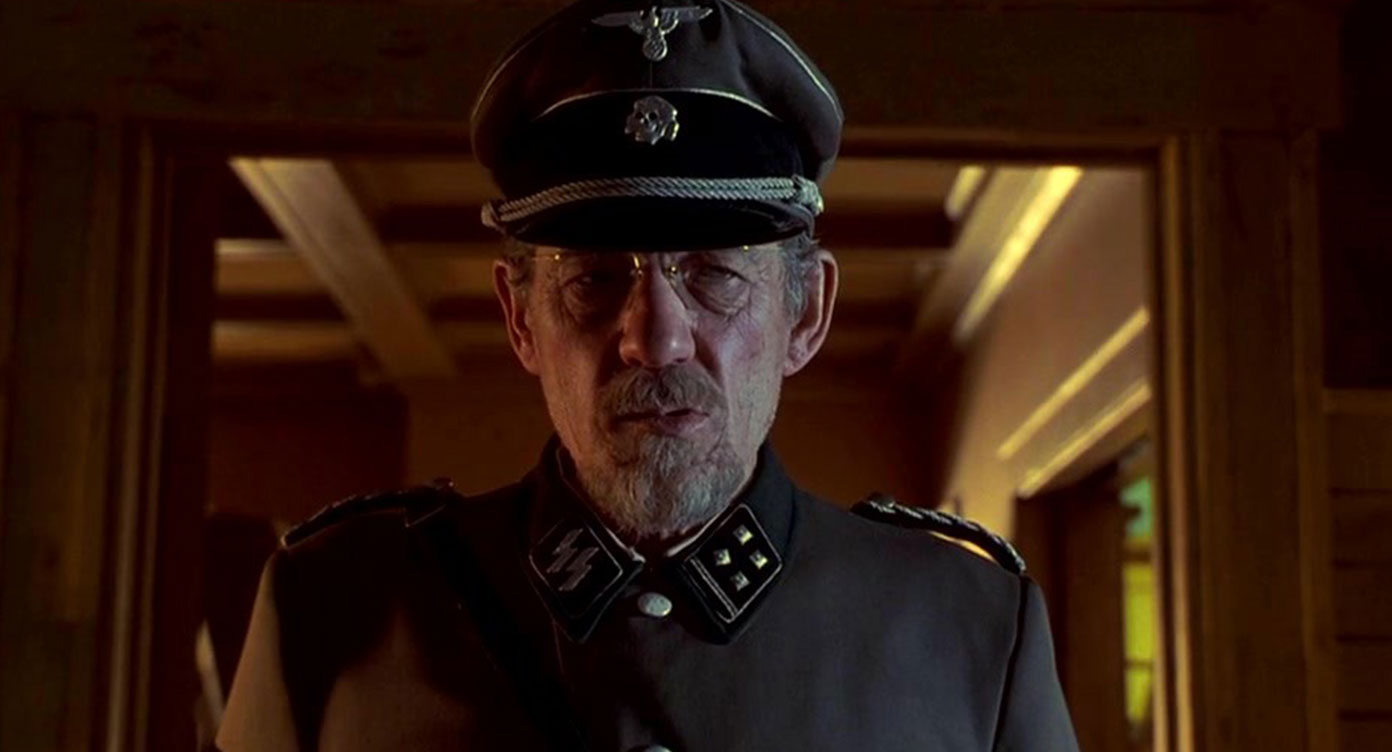 Ian McKellan as Kurt Dussander in Apt Pupil (1998)