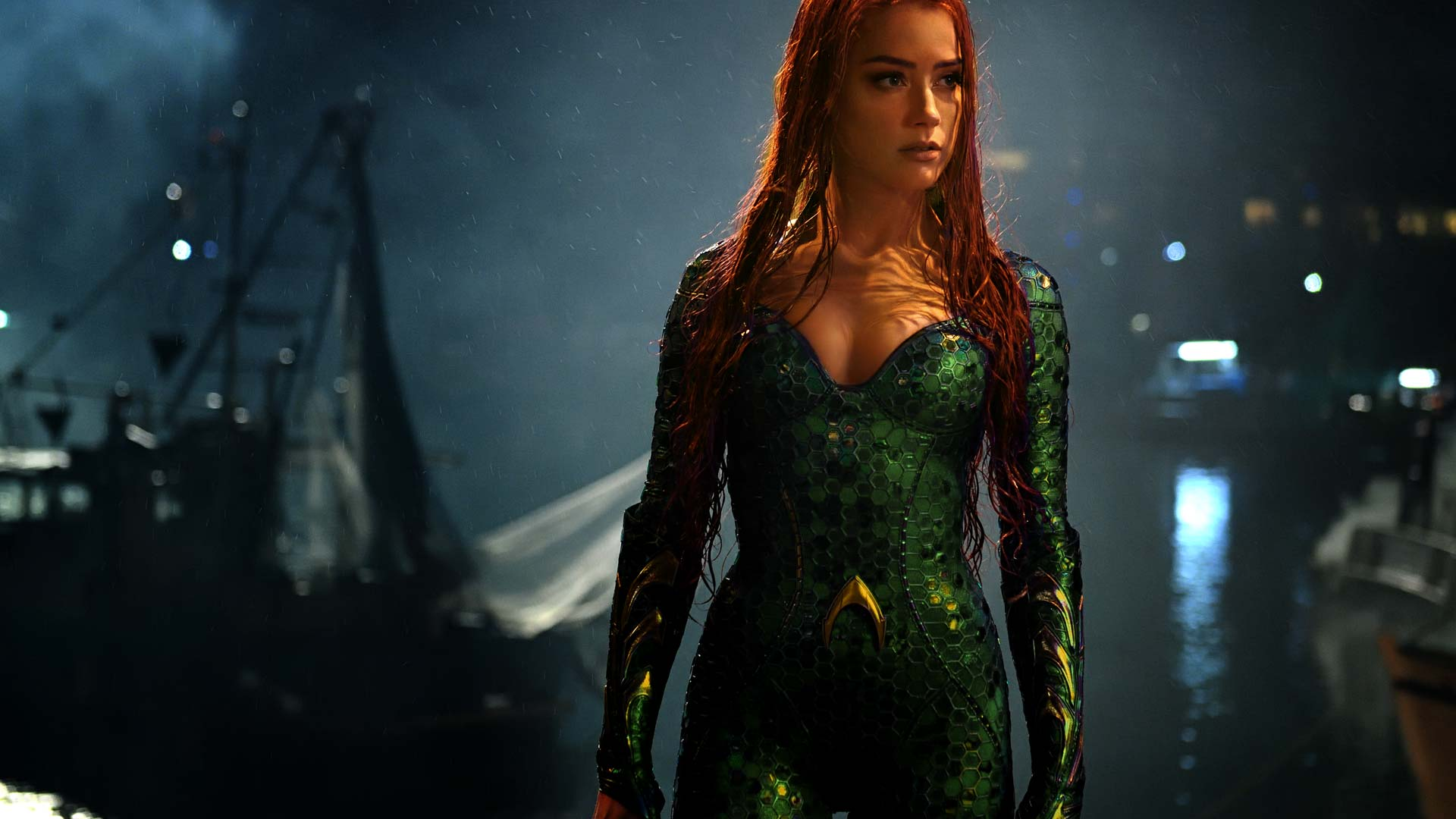 Amber Heard as Mera in Aquaman (2018)