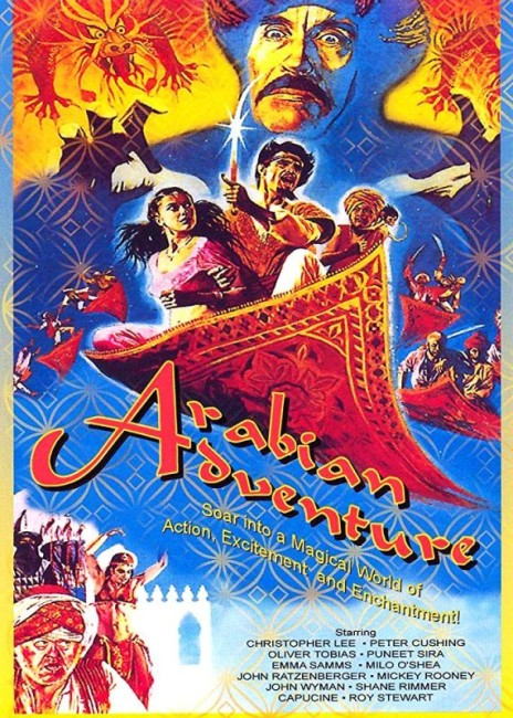 Arabian Adventure (1979) poster