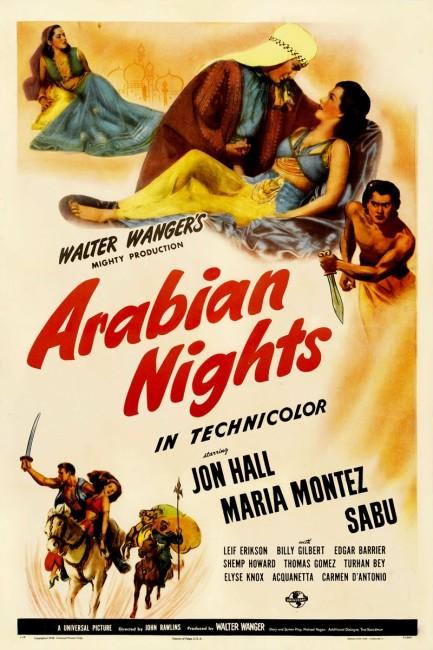 Arabian Nights (1942) poster
