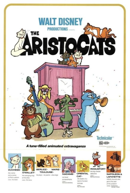 The Aristo Cats (1970) poster