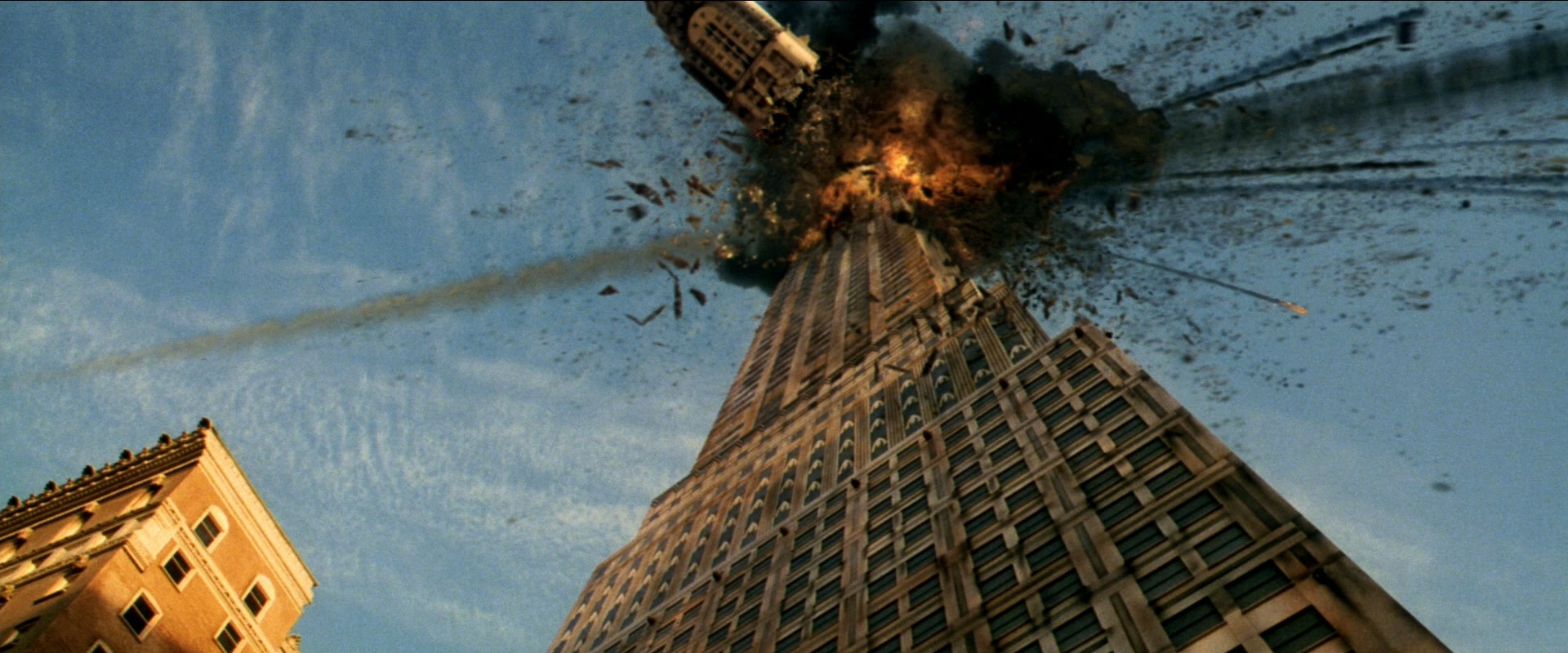 Mass destruction from Armageddon (1998)