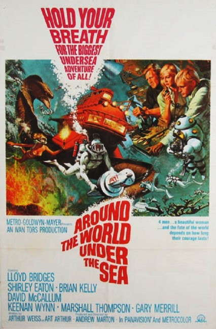 Around the World Under the Sea (1966) poster