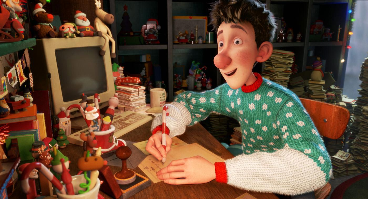 Santa's son Arthur (voiced by James McAvoy) in Arthur Christmas (2011)