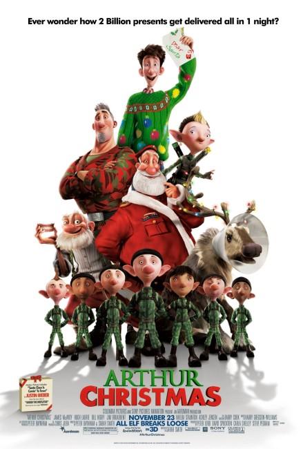 Arthur Christmas (2011) poster