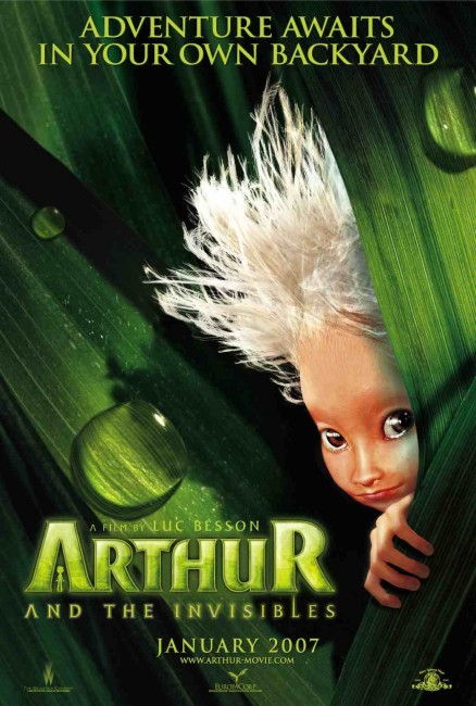 Arthur and the Invisibles (2006) poster