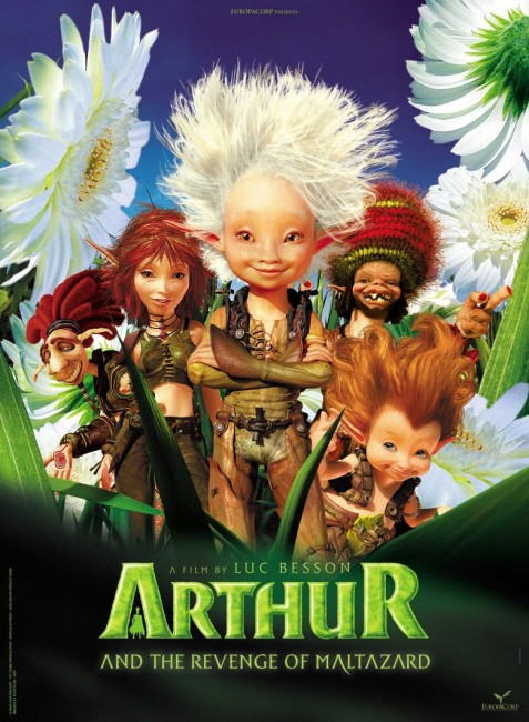 Arthur and the Revenge of Maltazard (2009) poster