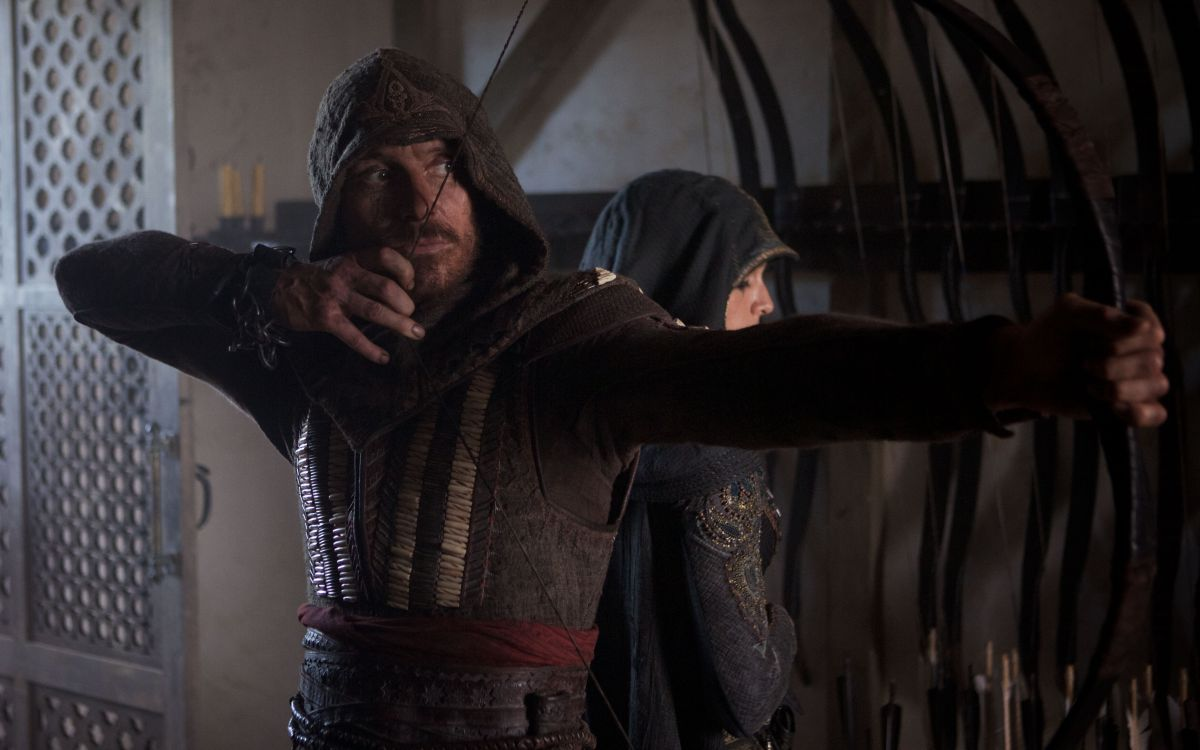 Michael Fassbender as Aguilar in Assassin's Creed (2016)