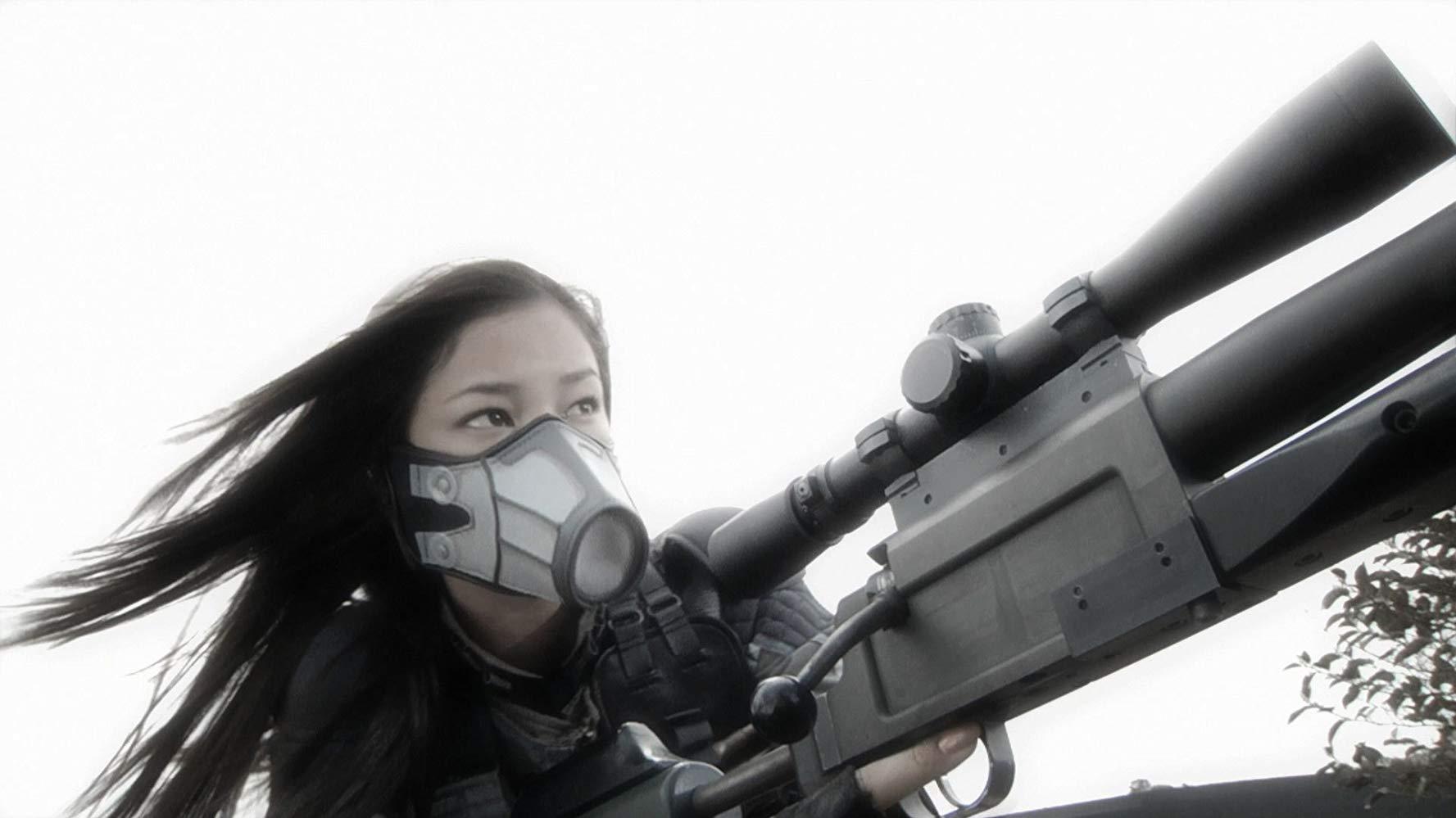 Gray (Meisa Kuroki) in action in Assault Girls (2009)