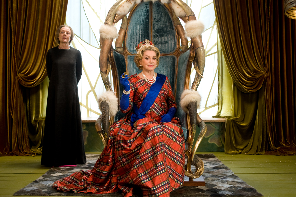 Catherine Deneuve as Queen Cordelia of Britannia in Asterix and Obelix: God Save Britannia (2012)