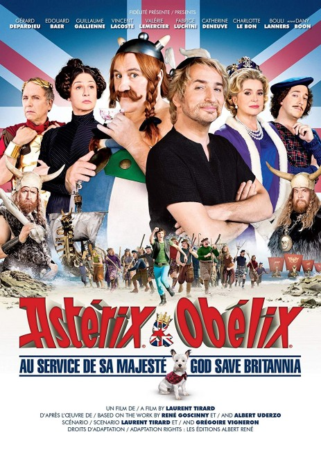 Asterix and Obelix: God Save Britannia (2012) poster