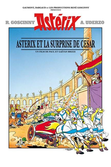 Asterix vs Caesar (1985) poster