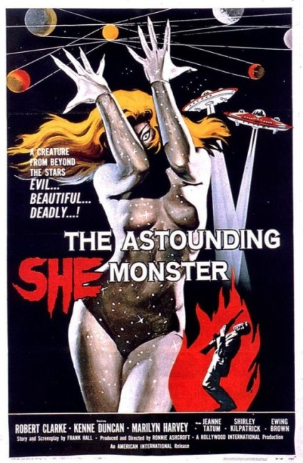 The Astounding She-Monster (1958) poster
