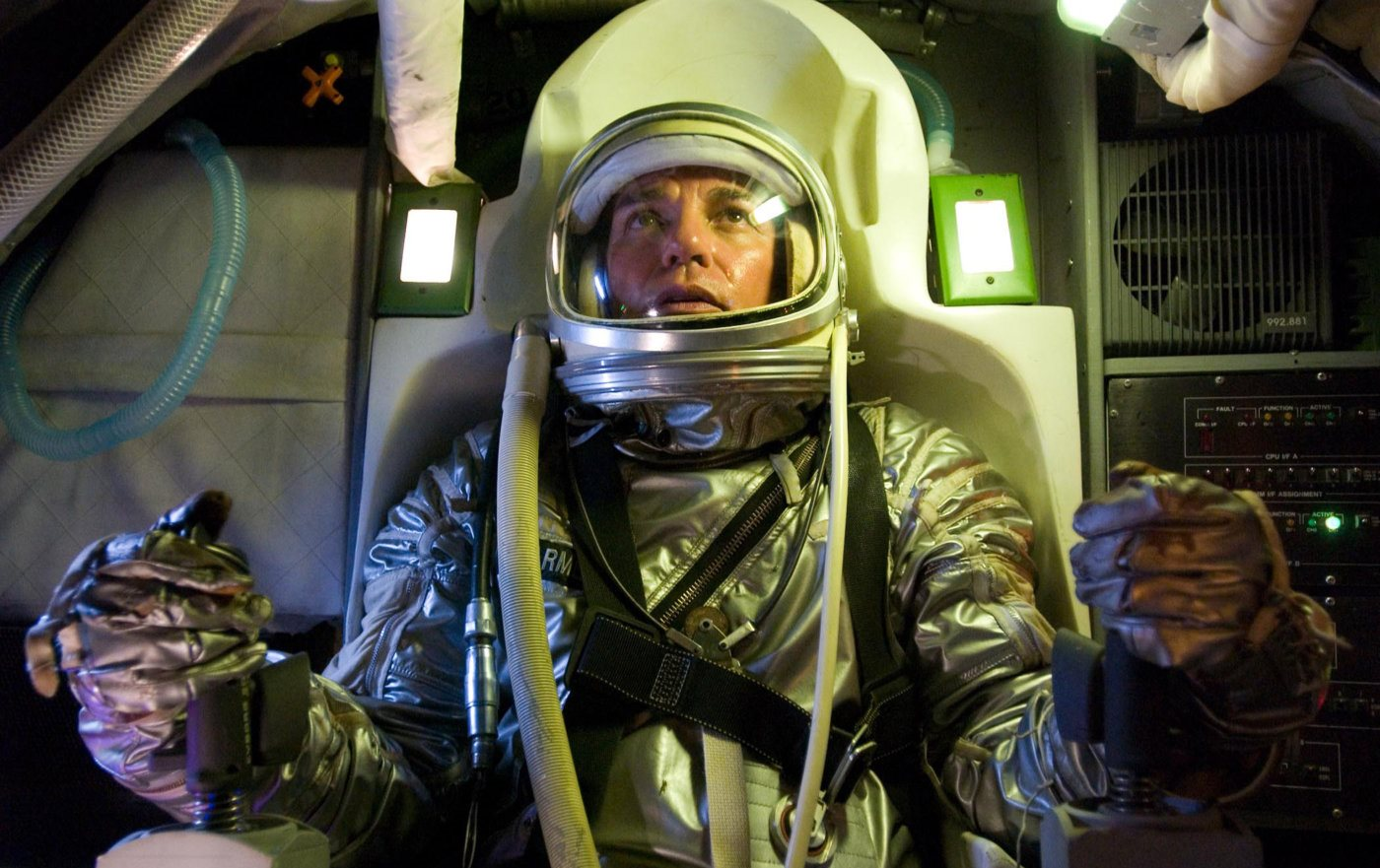 Billy Bob Thornton prepares to launch in his rocket in The Astronaut Farmer (2006)
