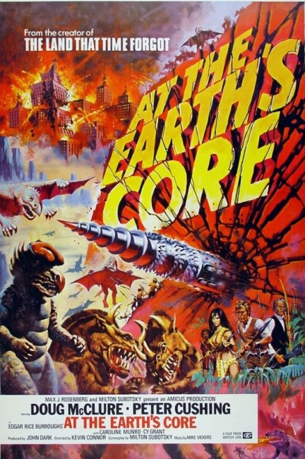At the Earth's Core (1976) poster