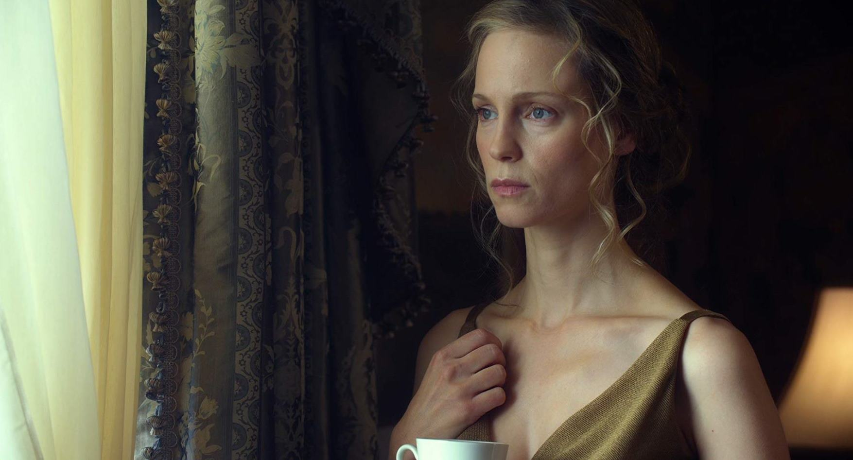 Laura Regan, the replacement as Ayn Rand's railroad tycoon heroine Dagny Taggart in Atlas Shrugged III: Who is John Galt? (2014)