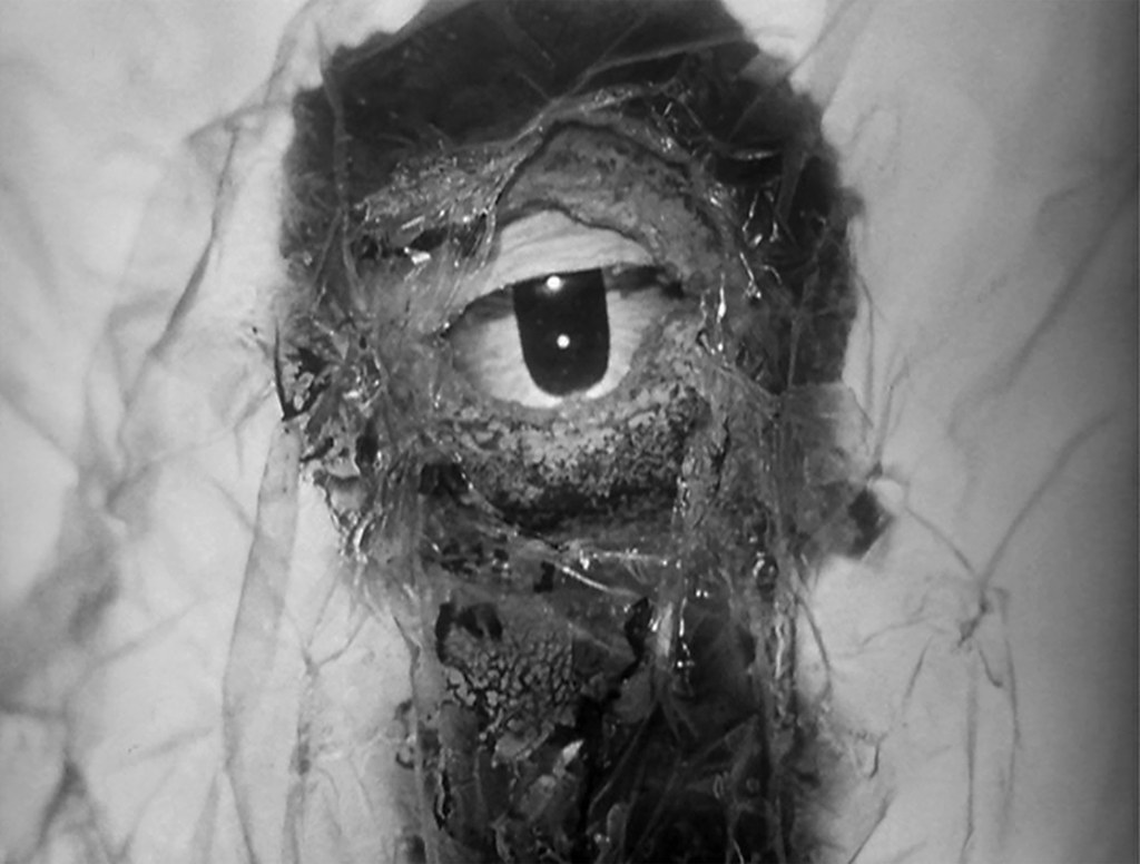The eyeball alien in The Atomic Submarine (1959)