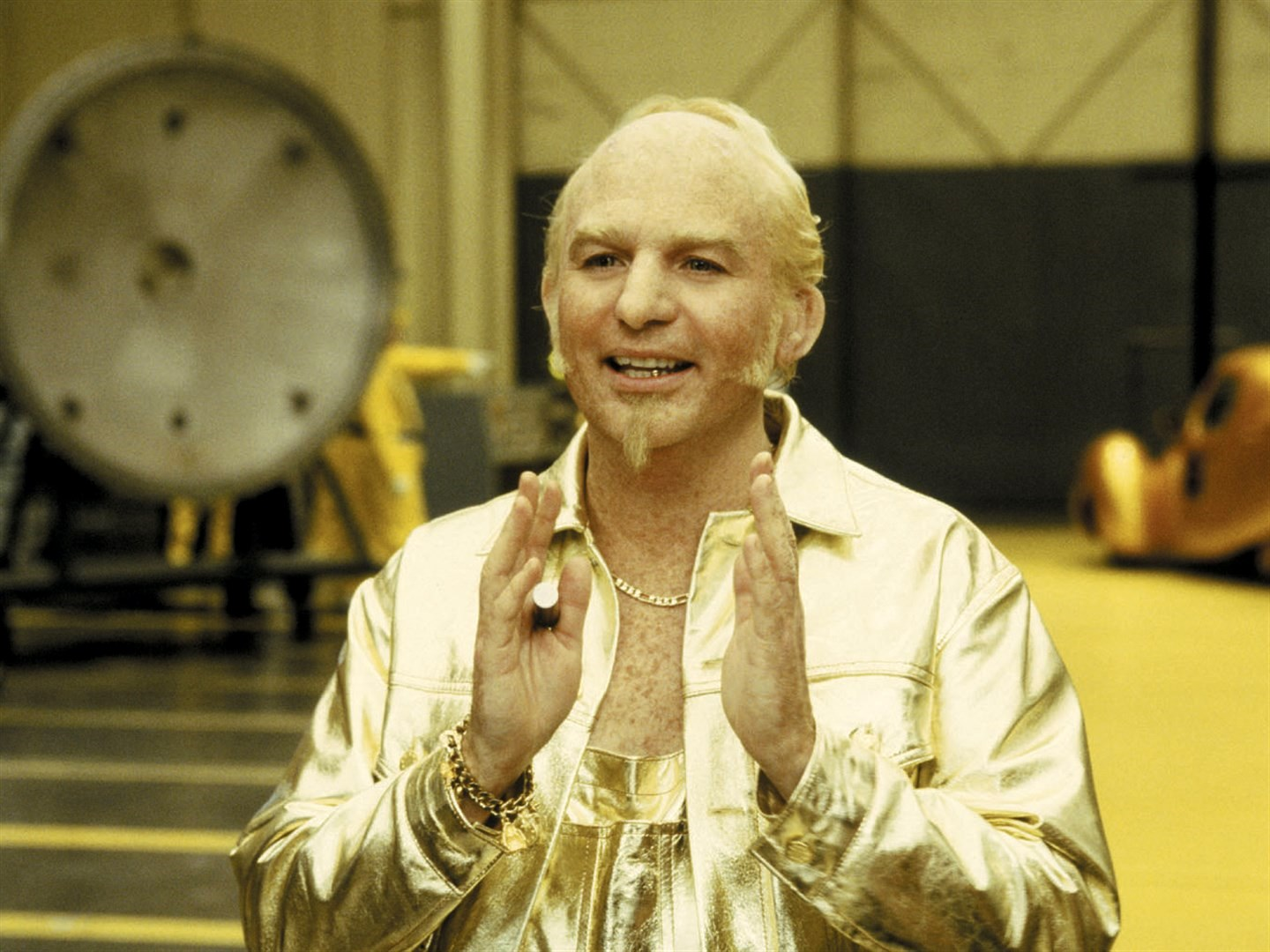 Mike Myers as the Dutch villain Johan van der Smut aka Goldmember in Austin Powers in Goldmember (2002)
