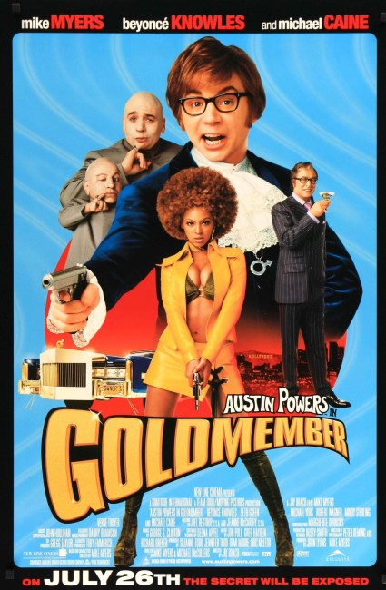 Austin Powers in Goldmember (2002) poster