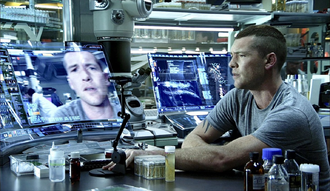 Sam Worthington as Jake Scully in Avatar (2009)
