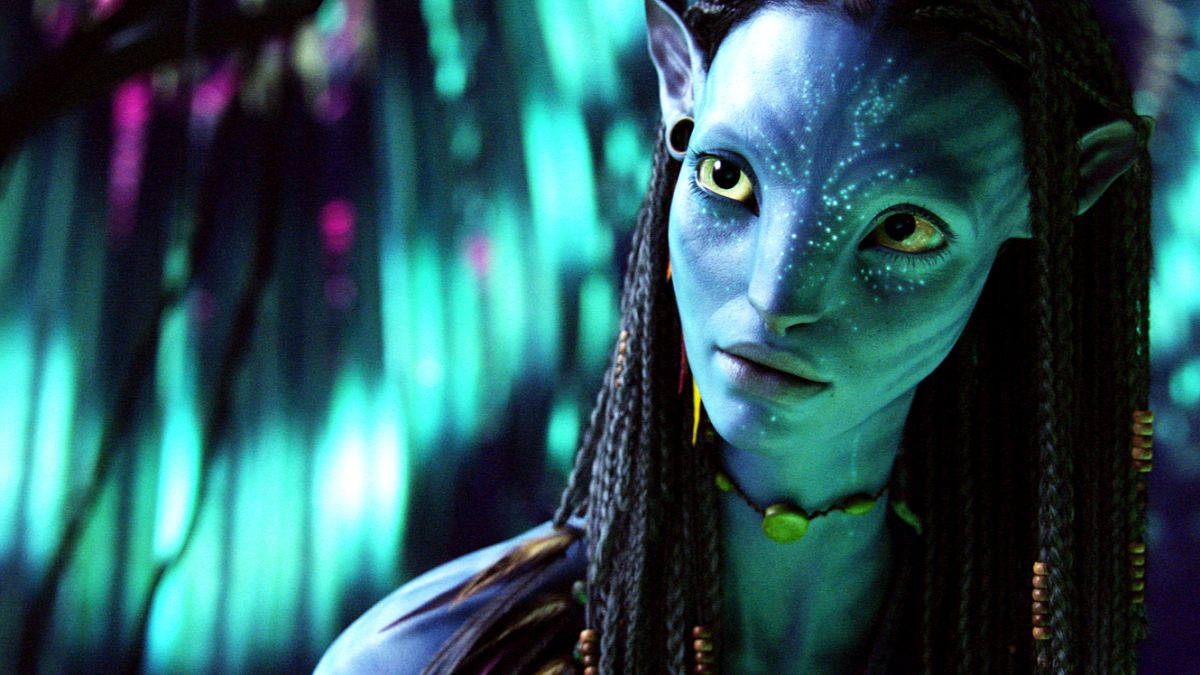 Zoe Saldana as Neytiri in Avatar (2009)