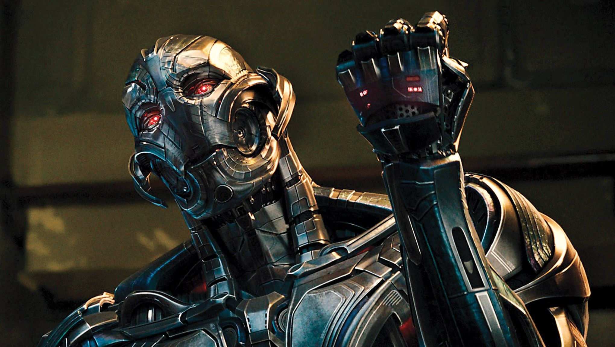 Ultron (voiced by James Spader) in Avengers: Age of Ultron (2015)