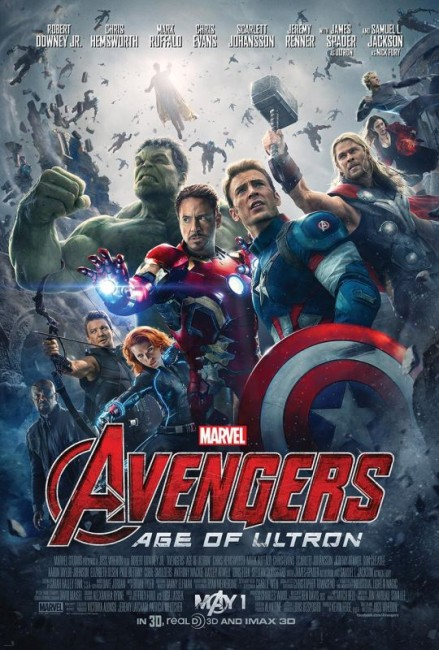 Avengers Age of Ultron (2015) poster