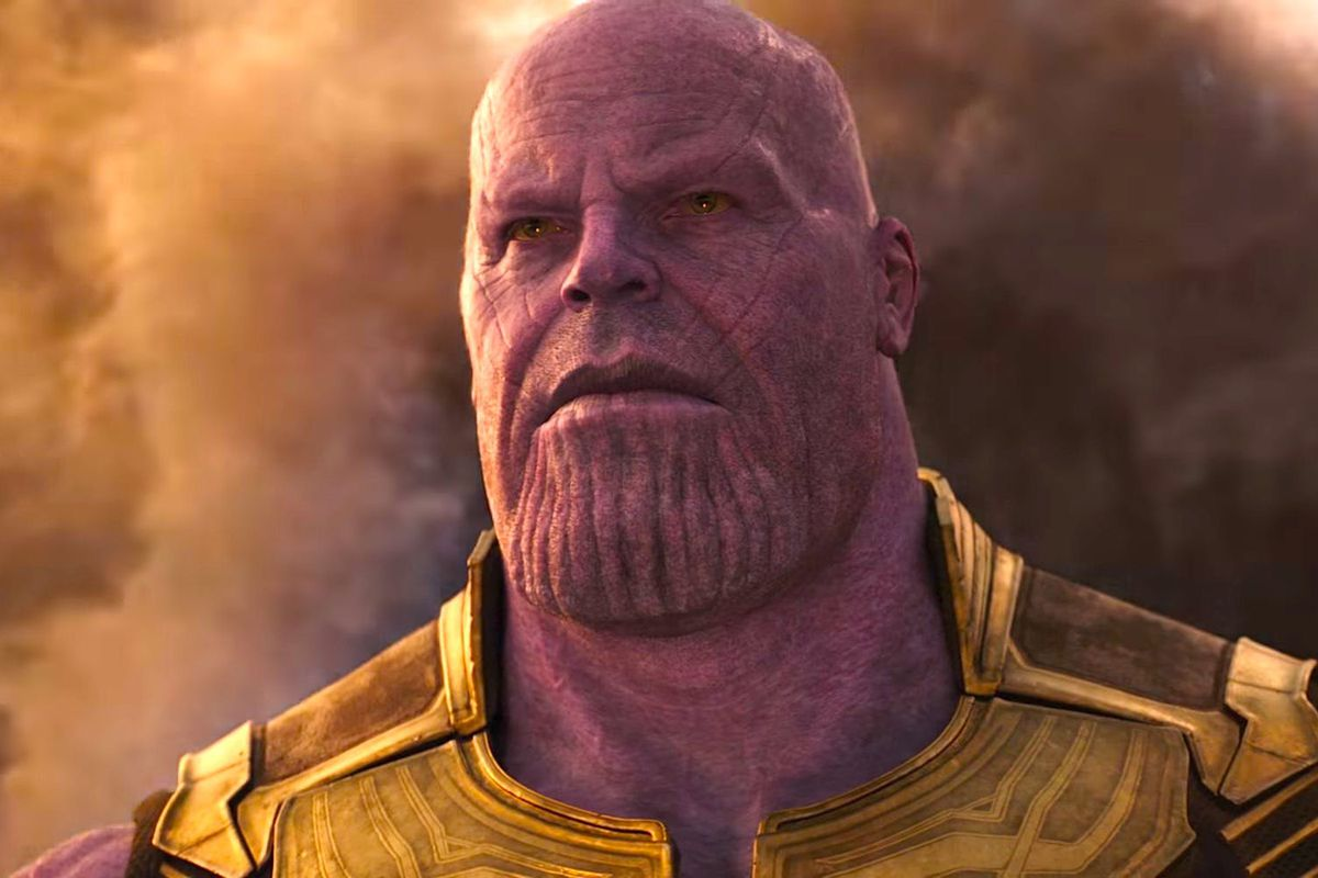 Thanos (James Brolin) in Avengers: Infinity War (2018)