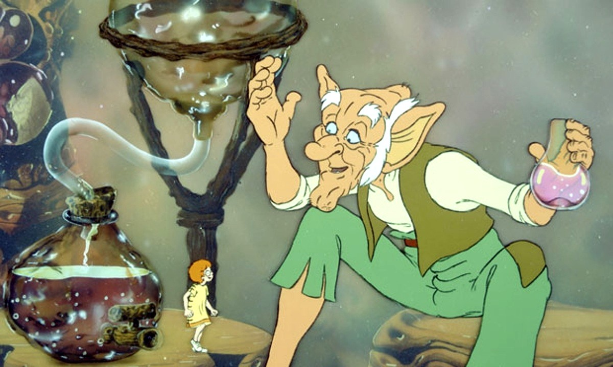 The friendship between Sophie and The BFG (1989)