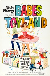 Babes in Toyland (1961) poster