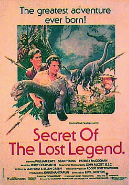 Baby - The Secret of the Lost Legend (1985) poster