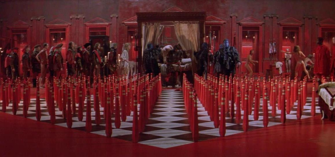 The Daughter's fate at the hand of the bishop's soldiers in The Baby of Macon (1993)