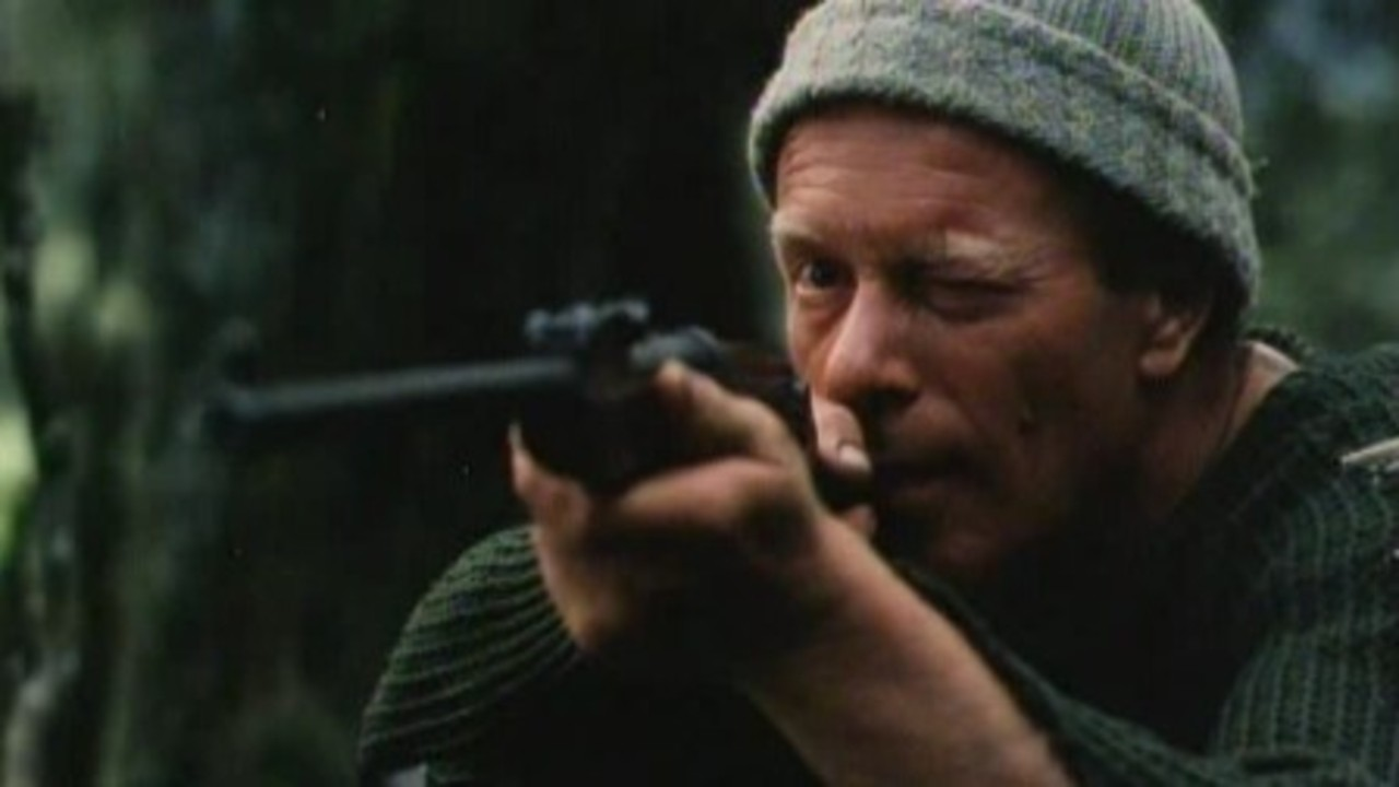 Jack Thompson as real-life New Zealand mass murderer Stanley Graham in Bad Blood (1982)