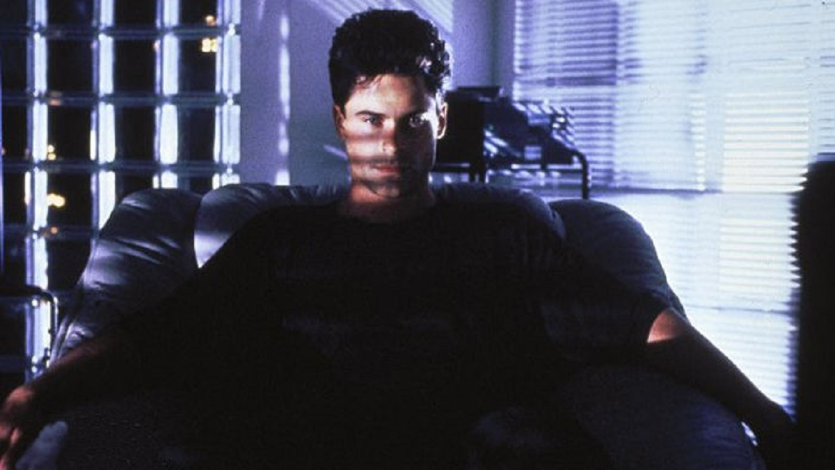 Rob Lowe as the psychopathic Alex in Bad Influence (1990)