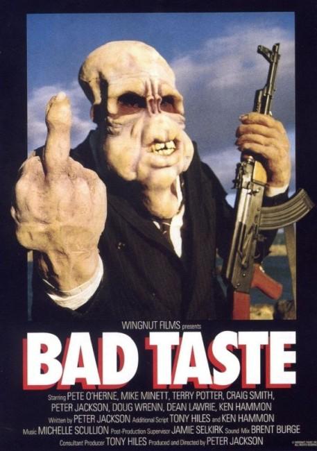 Bad Taste (1988) poster