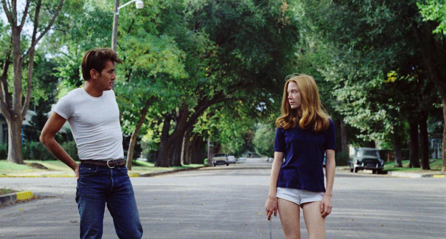 Kit (Martin Sheen) and Holly (Sissy Spacek) in Badlands (1973)