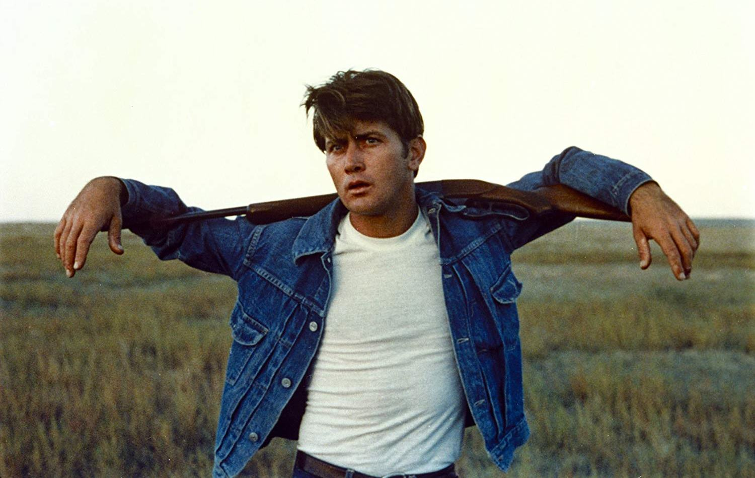 Martin Sheen as Kit Carruthers, based on real-life spree killer Charles Starkweather in Badlands (1973)